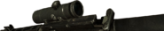M16 American ACOG Side View BO