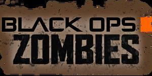 Zombie title screen BOII