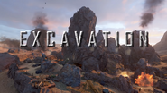 Excavation ShadowWarTrailer WWII