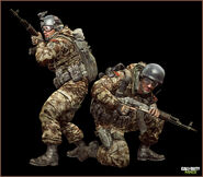 Russian soldier mw3
