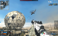 Attack Helicopter over Dome CoDO