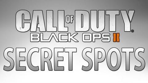 Black Ops II Secret Spots Episode 1 Meltdown & Overflow