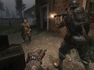 Call of Duty-U.S. Army 2nd Ranger Battalion shooting German troops