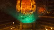 Gniew starozytnych wilk grobowiec