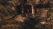 Temple wodospad labirynt