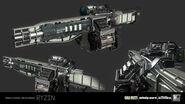 Titan 3D model concept IW