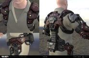54i Exosuit Body Concept by Peter Zoppi BOIII
