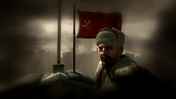 Reznov and Russian Flag Downfall WaW