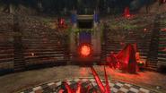 Szybka podróż Ancient Evil amfiteatr