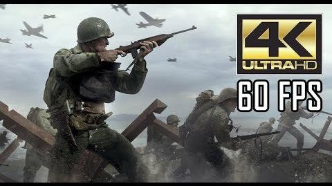 """ᴴᴰ Call of Duty WWII PC - """"Operation Cobra"""" 【4K 60FPS】 【MAX SETTINGS】"""