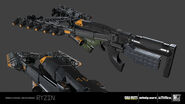 Claw 3D model concept IW