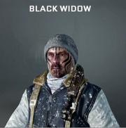 Blackwidow Face Paint BO