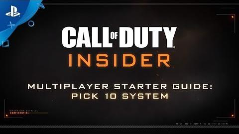 """Call of Duty Black Ops 4 – MP """"Hot Tips Pick 10"""" PS4"""