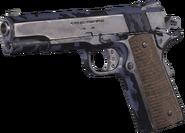 M1911 .45 Blue Tiger MWR