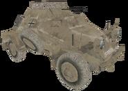 Sd. Kfz. 222 Afrika Korps model CoD2