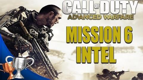 Call of Duty Advanced Warfare - All Intel Locations - Mission 6