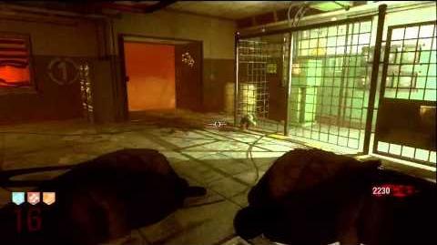 Black Ops Ascension Sickle Ballistic Knife Monkey Gameplay