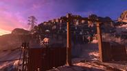 Tyrolka Tag der Toten latarnia – poziom 4., wejście do ośrodka