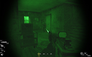 Engaging second enemy troop in house Blackout CoD4
