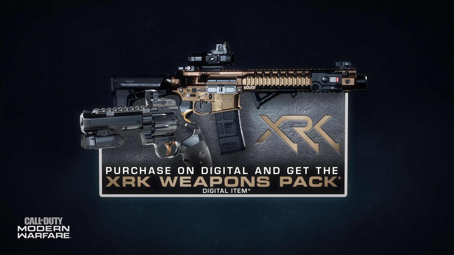 Xrk Weapons Pack Call Of Duty Wiki Fandom