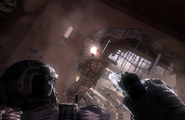 Frost uses Sandman's pistol MW3