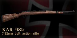 Kar98k menu icon CoD3