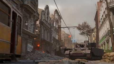 Call of Duty® WWII Aachen Multiplayer Map Flythrough