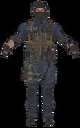 FBI SMG model BOII
