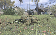 Ghillie Suit sniper prone Creek COD4
