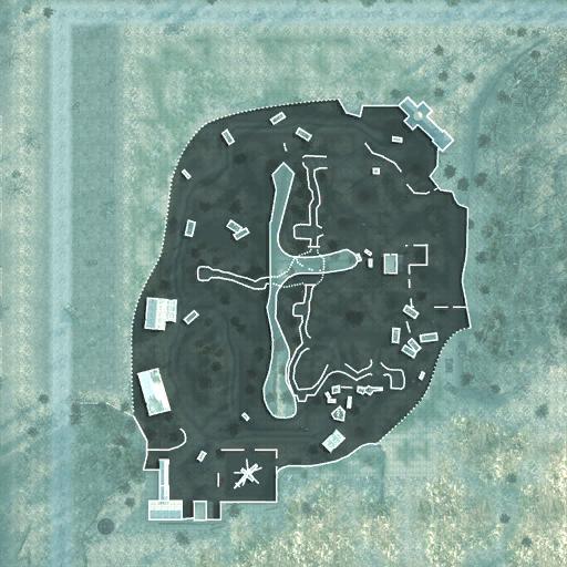 Wasteland minimap MW2