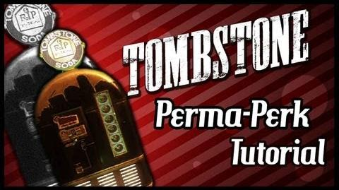 "Black Ops 2 Zombies ""BURIED"" - ""TOMBSTONE Perma-Perk"" Tutorial! Lose One Perk When Downed!"