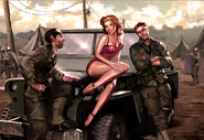 Pin-up CoD3 characters WaW