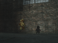 Teddy Bear shadow Der Riese WaW