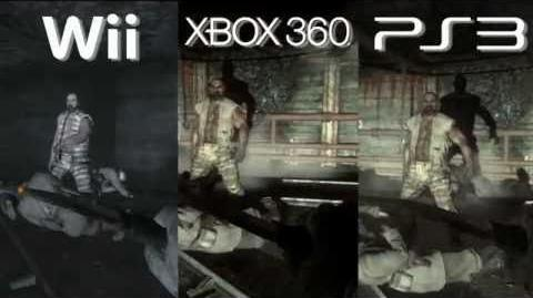 Call of Duty Black Ops Graphics Comparison PS3 vs Xbox360 vs Wii HD