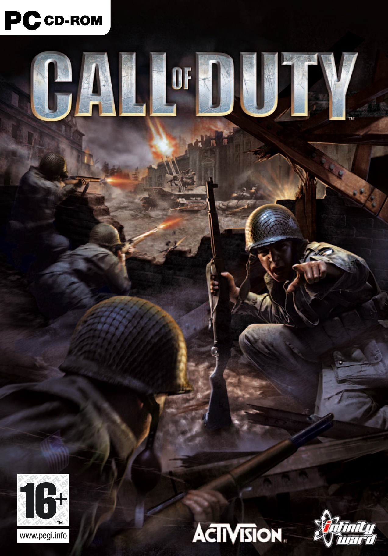 Image result for Call of Duty 1 cover pc