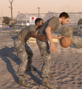Баскетбол на базе Феникс