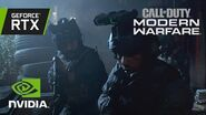 Call of Duty Modern Warfare Official GeForce RTX Ray Tracing Reveal Trailer