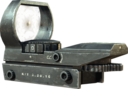 Red Dot Sight menu icon MW3