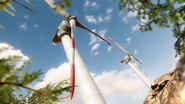 Turbine map turbine BOII