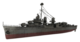 Fletcher-class destroyer model WaW