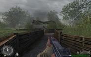 Gun 1 trench 2 Brecourt Manor CoD1