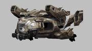 Razorback concept art AW