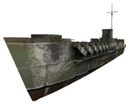 Landing Craft Infantry static WaW