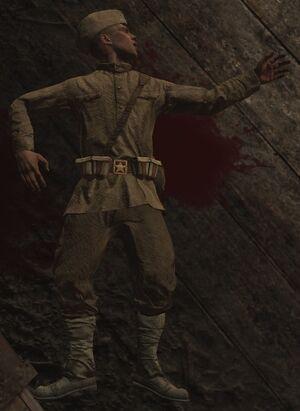 Раненый советский солдат 3 (Их земля, их кровь)