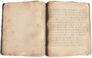 Gorod Krovi Book cipher
