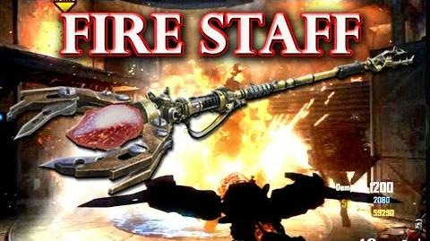 How to build and upgrade the Fire Staff