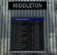 Underground - Список рейсов