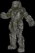 Ruins Predator Statue model CoDG