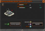 Communications Center Level 5 Upgrade Stats CoDH