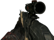 AK-47 ACOG Scope MW2